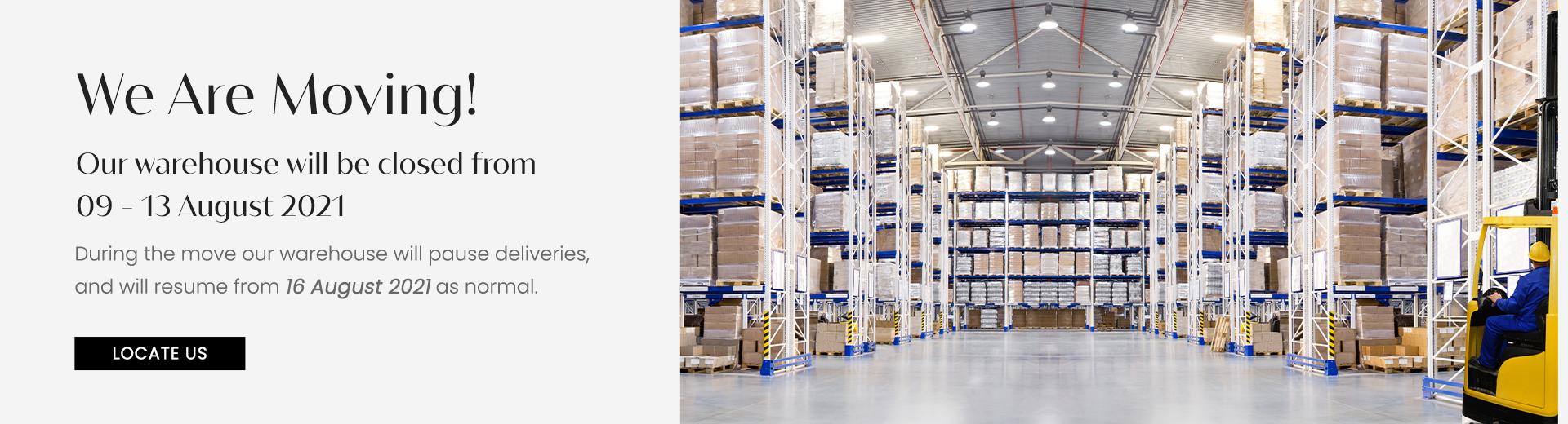 Temporary-warehouse-closure
